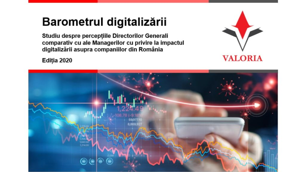 Valoria survey: Increased operational efficiency, process simplification, and cost reduction are among the top benefits of digitalization from a managers' perspective