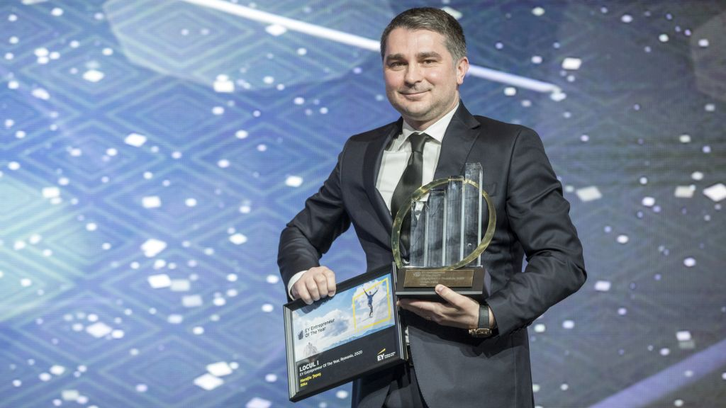 Horatiu Tepes, CEO of Bilka, is the Entrepreneur of the Year 2020 in Romania