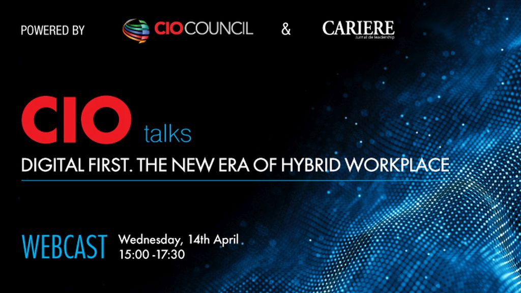 WEBCAST: CIO TALKS - Powered by CIO Council & CARIERE