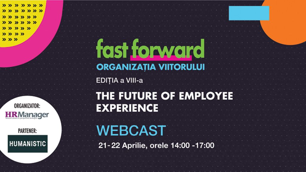 Webcast: FAST FORWARD. ORGANIZATION OF THE FUTURE