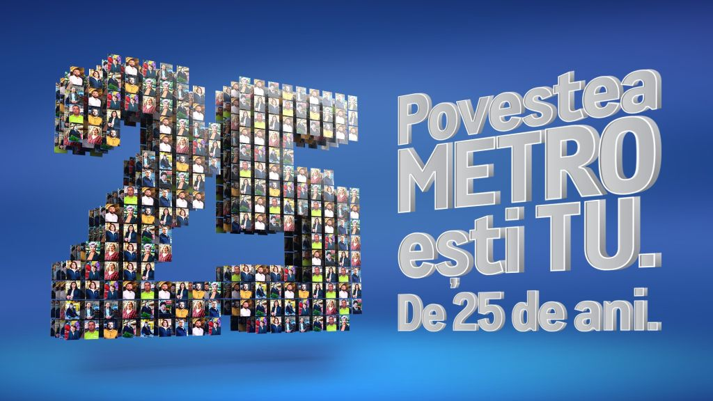 METRO, the leader of the Romanian Cash & Carry market, celebrates 25 years on the local market