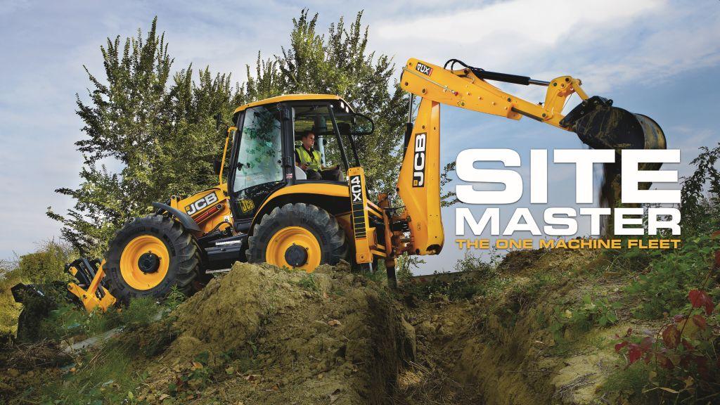 Noile buldoexcavatoare JCB sitemaster Stage V – o masina cat o flota