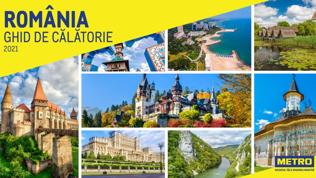 METRO Cash & Carry Romania launches the first edition Romania: Travel Guide
