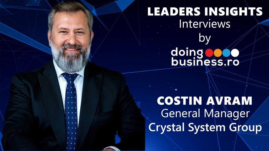 Costin Avram  - Crystal System @ LEADERS INSIGHTS Interviews