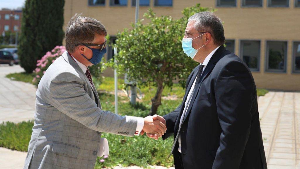 The Commissioner of the Georgia Department of Economic Development Visits Intracom Telecom