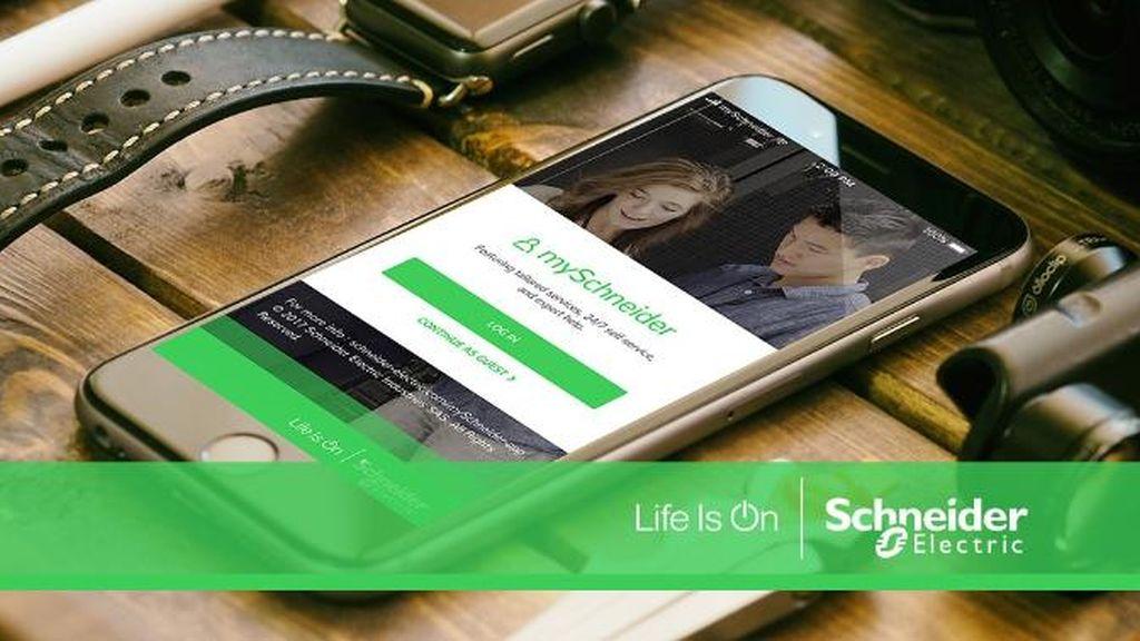 Schneider Electric prezinta mySchneider:  o experienta digitala personalizata all-in-one pentru clientii si partenerii sai