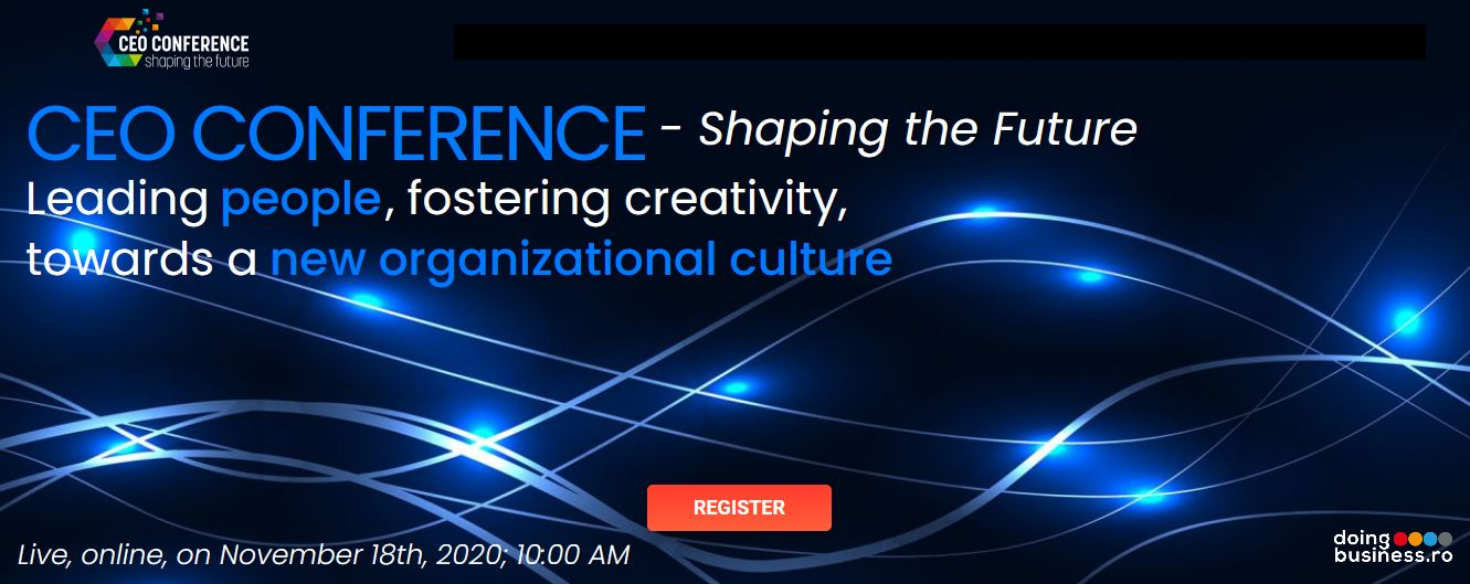 CEO Conference – Shaping the Future - Leading people fostering creativity towards a new organizational culture