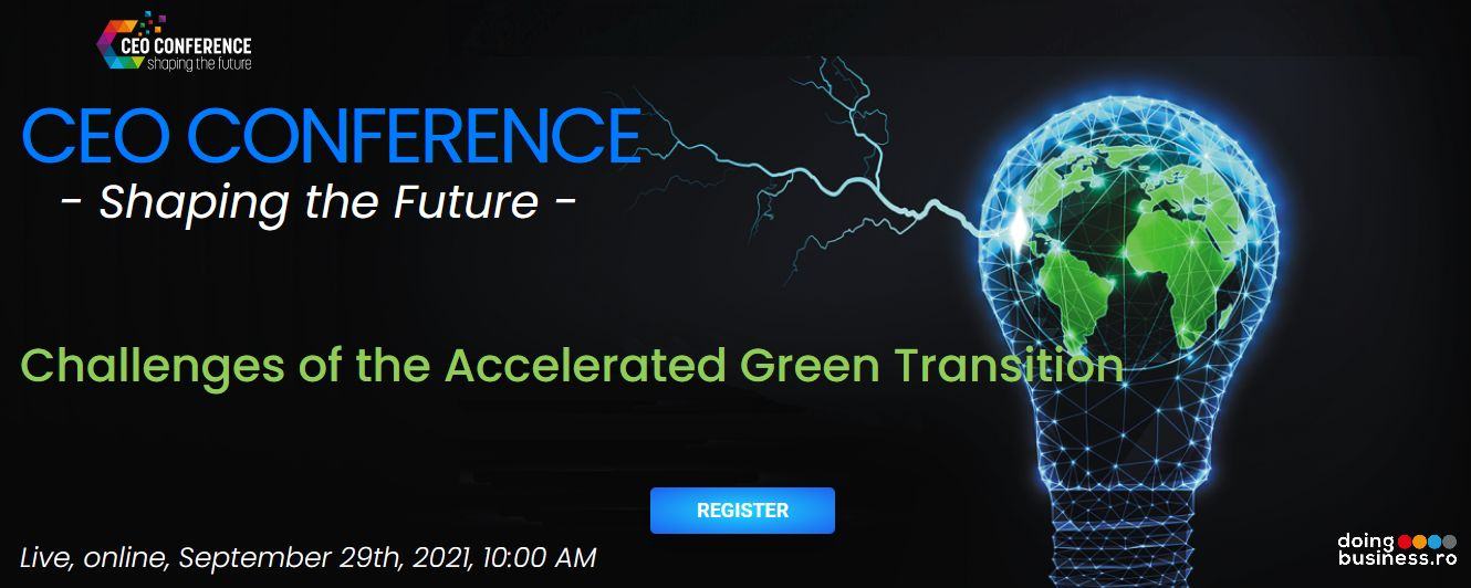 CEO Conference – Shaping the Future - Challenges of the Accelerated Green Transition