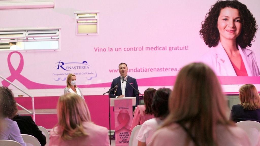 Fundatiile Globalworth si Renasterea lanseaza Caravana Mobila de diagnosticare a cancerului de col uterin