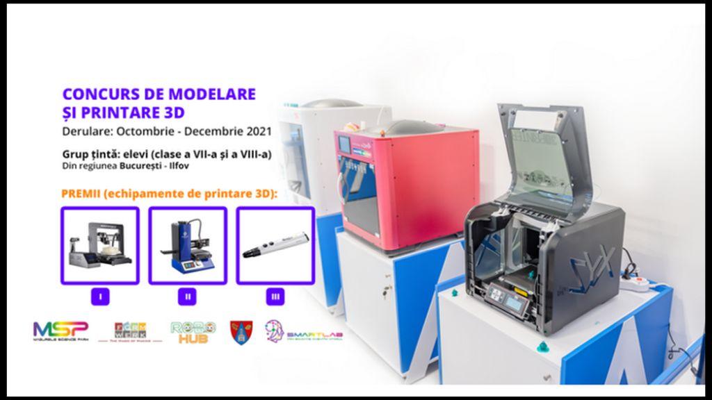 Modeleaza Viitorul! Cum vezi integrarea tehnologiilor de printare 3D in curricumul scolar / sistemul educational?